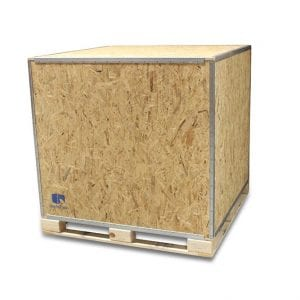 48x40x42 Wood Shipping Crate • ISPM-15 Certified - SharkCrates